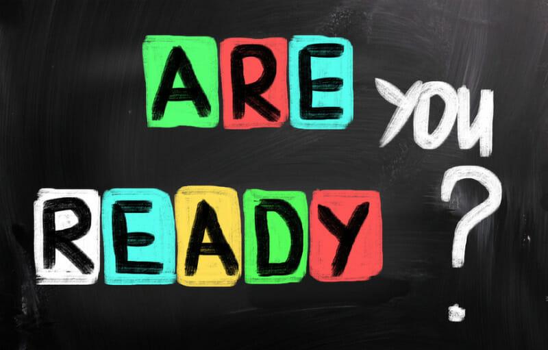 準備OK?